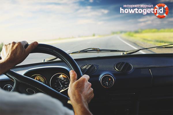 Sfatul psihologului de a depăși teama de a conduce