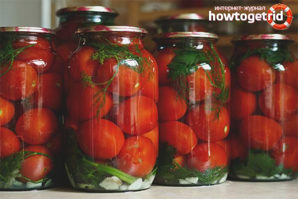 Как да запазим доматите за зимата