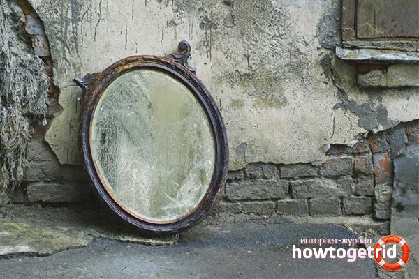 Wie man einen Spiegel loswird