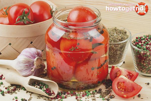 Класическа рецепта за доматени консерви