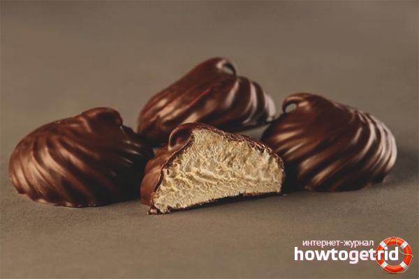 Chokolademarshmallows