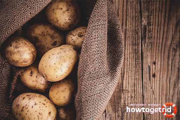 Cách bảo quản khoai tây