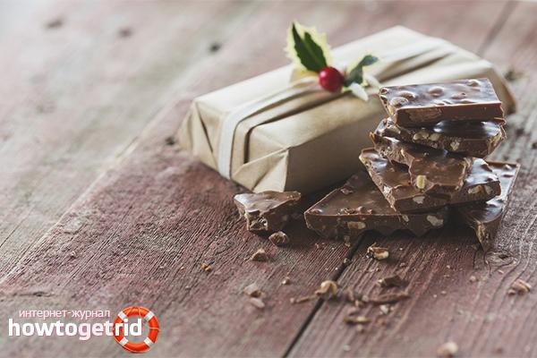 Wie man Schokolade aufbewahrt
