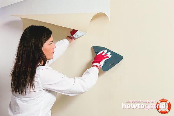 Kā līmēt drywall tapetes
