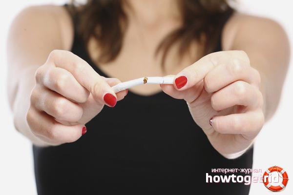 Com netejar el cos després de fumar