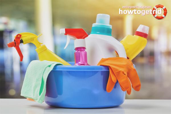 Hur man tvättar mögel på plastfönster