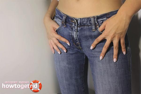 So waschen Sie Ihre Jeans, damit sie sich hinsetzen