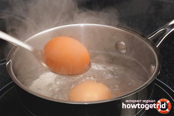 Wie man Eier kocht