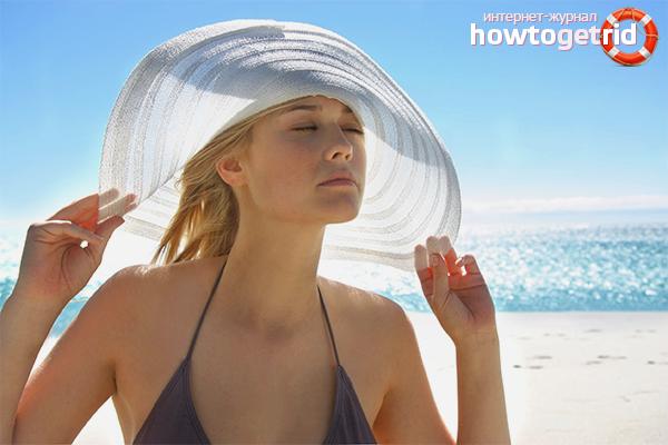 Com protegir el cabell del sol de vacances