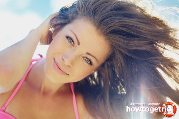 Com protegir el cabell del sol