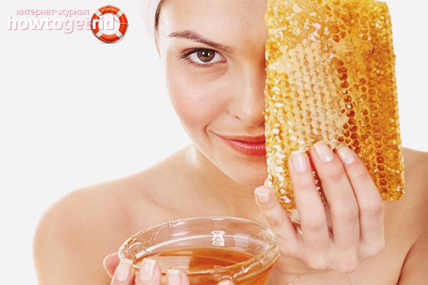 Hårmasker med honung