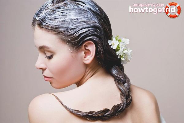 Närande hårmasker