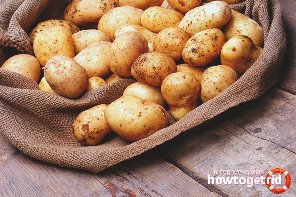Bảo quản khoai tây đúng cách
