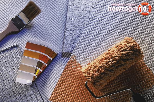 Как да залепите тапет за боядисване