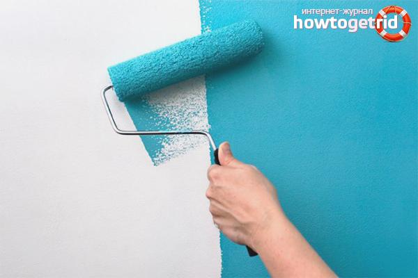 Kā sagatavot sienas krāsošanai