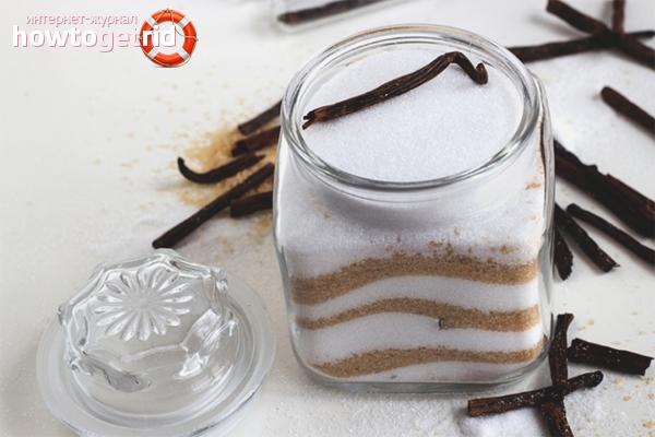 Sådan fremstilles vaniljesukker