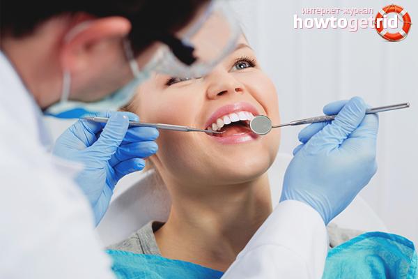 Kā stiprināt zobus zobārsta kabinetā
