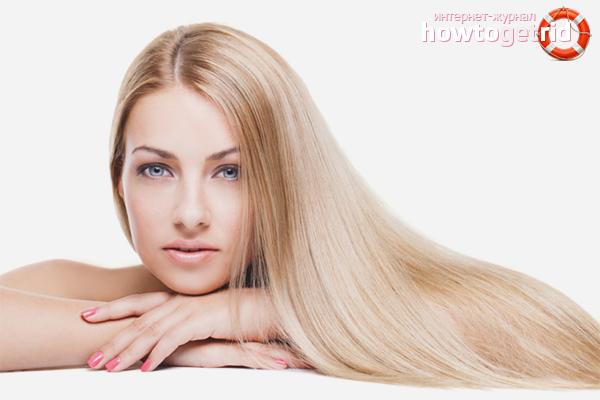 Wie man das Haarwachstum am Kopf erhöht