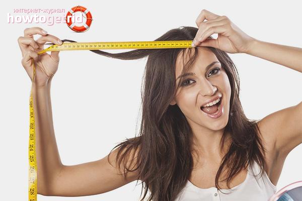 Wie man das Haarwachstum erhöht