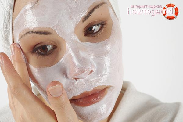 Màscares per a la inflamació i segells a la cara