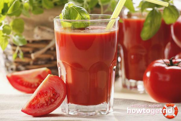 Nước ép cà chua Hangover