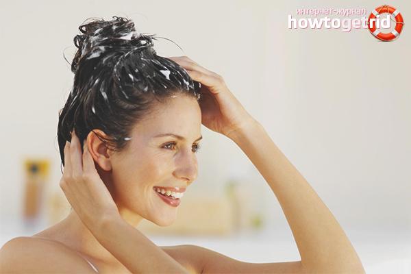 Hausgemachte fettige Kopfhautbehandlungen