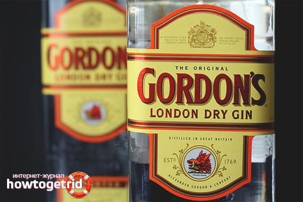 Как да пием Gordons Gin