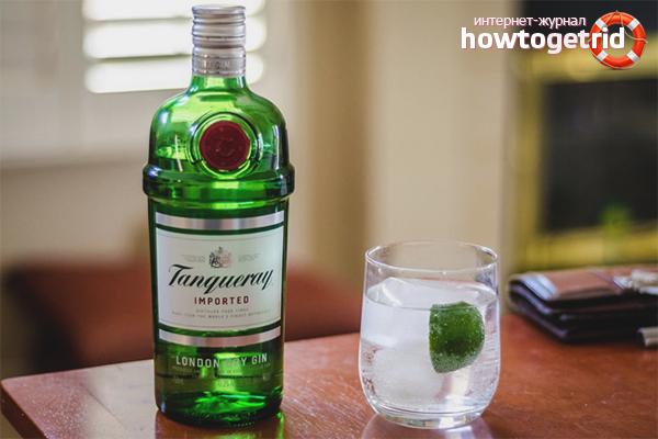 Как да пием разреден джин