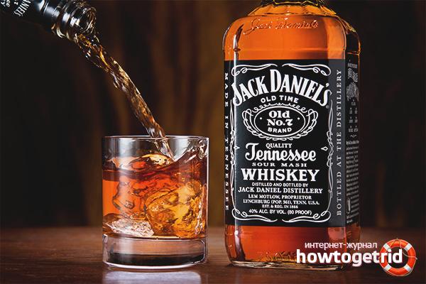 Как да пием уиски Jack Daniels