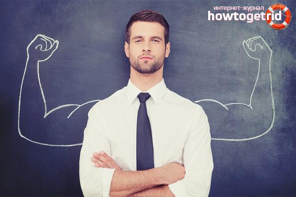 כיצד להגדיל את ההערכה העצמית לגבר