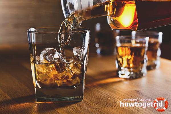 Как да пием уиски