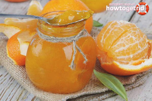 Wie man Orangenmarmelade macht