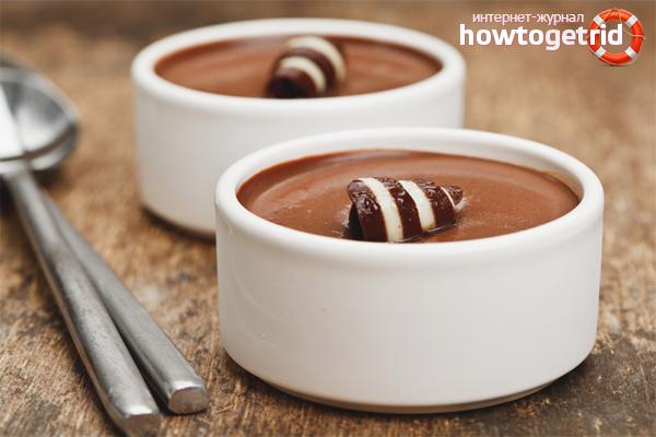 Wie man Schokoladenpudding macht