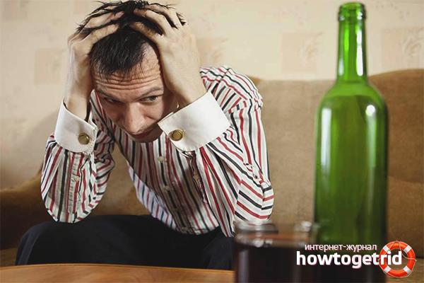 Bagaimana untuk keluar dari minuman keras sendiri