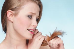 Màscares per a extrems de cabell sec
