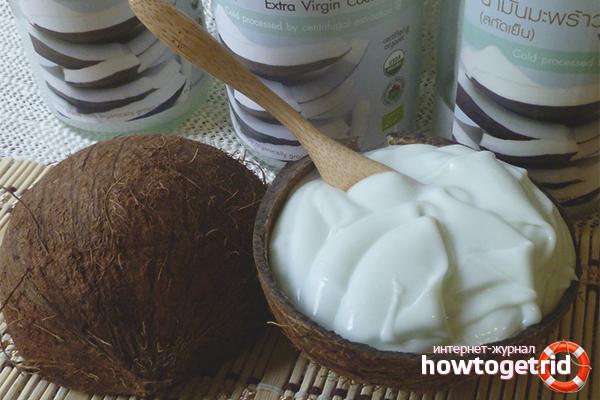Kokosnöshårmasker