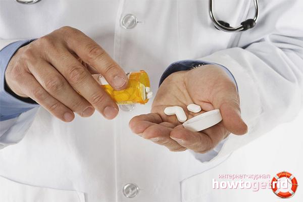 Medikamentöse Behandlung von Schwindel mit Osteochondrose