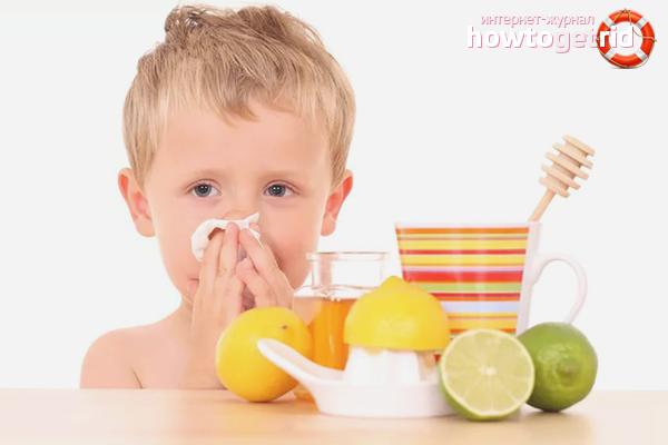Volksheilmittel gegen verstopfte Nase bei Kindern