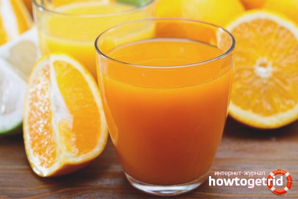 Ползите от портокалов сок за пушачи