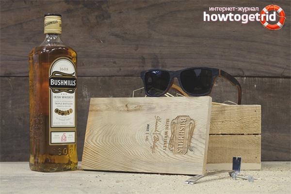 Правилно съхранение на уиски