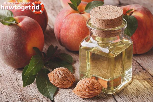 Použitie broskyňového oleja na vlasy
