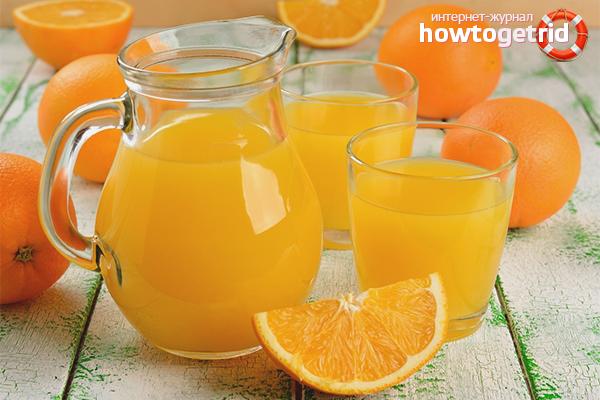 Вредите от прясно изцеден портокалов сок
