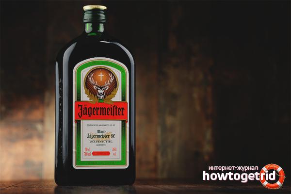 Cách uống Jägermeister