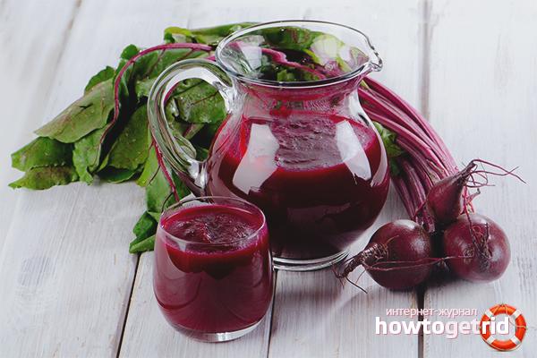 Как се прави сок от цвекло