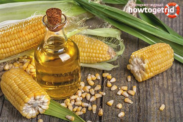 Minyak jagung untuk pertumbuhan rambut yang cepat