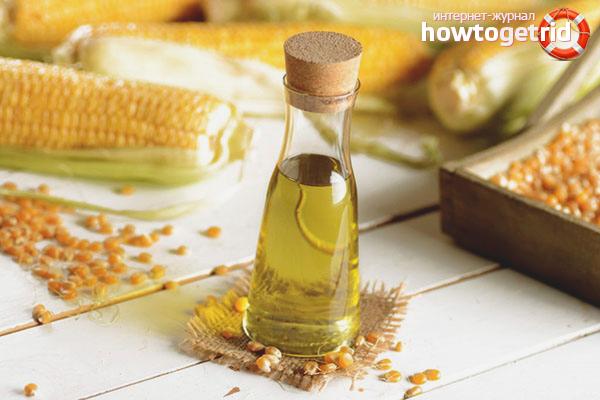 Minyak jagung untuk melembapkan rambut