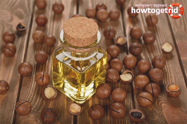 Macadamia olja för hår