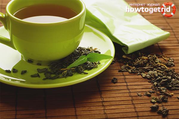 Els avantatges i els perjudicis del te verd