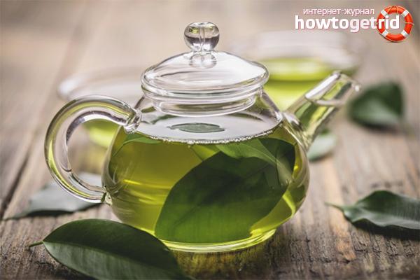 Els avantatges del te verd per als homes