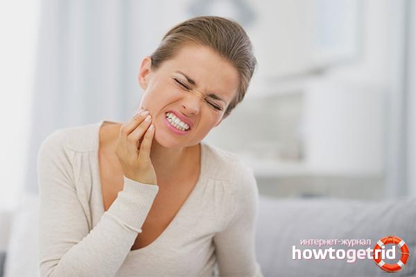 Maior sensibilidade dentária